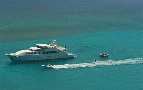 bvi charter yacht society boat show luxury yacht freedom 120 4 staterooms 9 guests