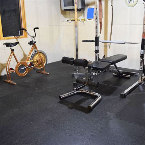 Home Gym Flooring   Rubber Or Foam
