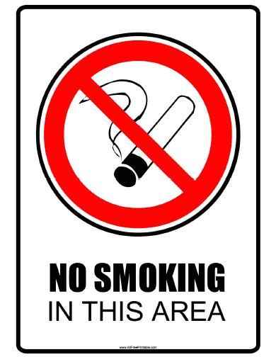 printable area in a4 no smoking area signs related keywords no smoking area