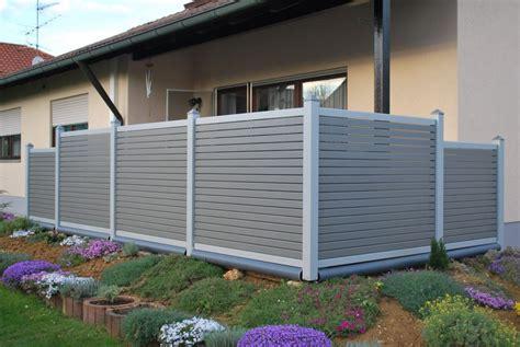 terrasse glasgeländer terrassengestaltung mit sichtschutz balkongel nder