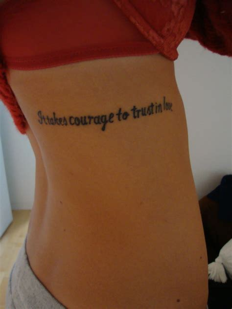 tattoo quotes about strength and courage tattoo quotes about courage quotesgram