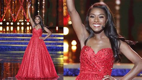 nia imani franklin about miss new york nia imani franklin wins miss america pageant