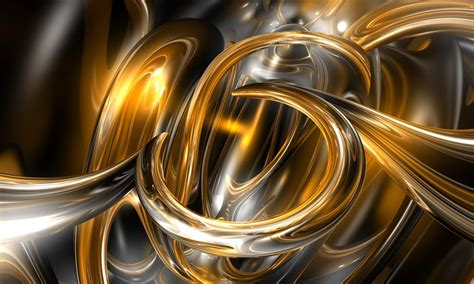 Wallpaper 3d Gold gold abstract wallpaper wallpapersafari