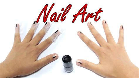 nail art triangle tutorial how to do an easy triangle nail art amazing diy tutorial
