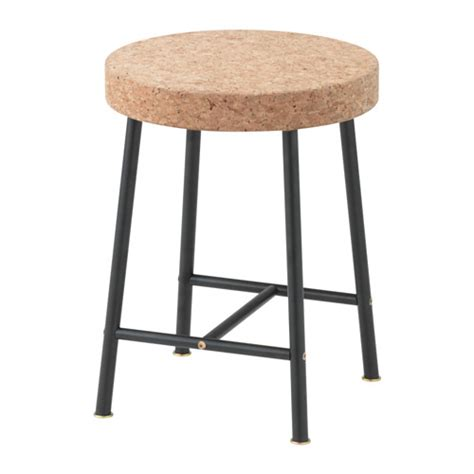 ikea stools sinnerlig stool cork natural 35 cm ikea