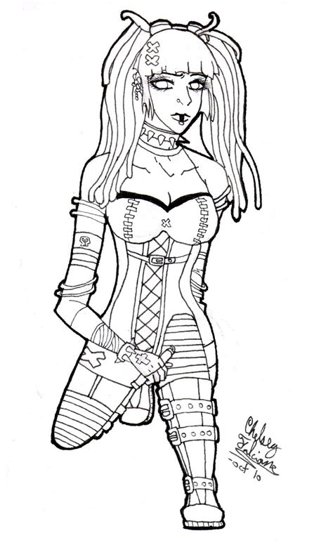 coloring book for goths coloring pages coloring pages