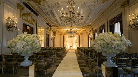 wedding packages new york wedding venues manhattan nyc the st regis new york