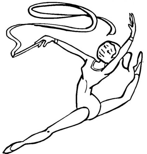 get this gymnastics coloring pages free printable q8ix4