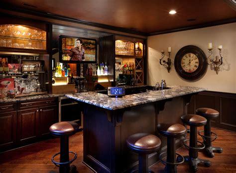 Tartan Ridge Lot 88   Mediterranean   Home Bar   columbus   by Romanelli & Hughes Custom Home