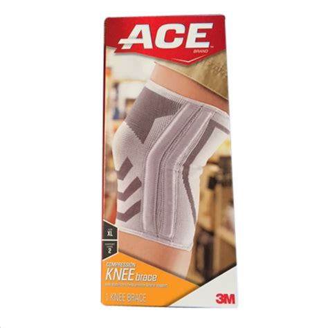 ace knitted knee support buy ace knitted knee brace with side stabilizers