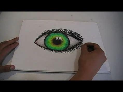 dibujos realistas con colores como dibujar un ojo quot realista quot utilizando colores de