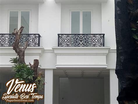 harga railing balkon klasik minimalis besi tempa