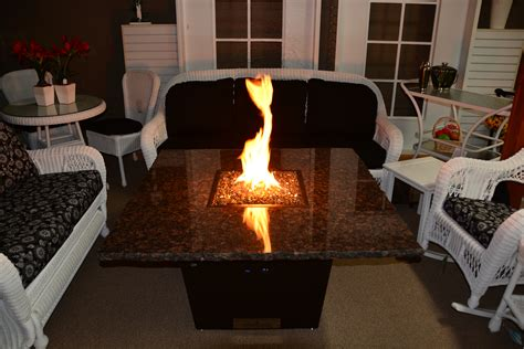 country stove and patio firetainment table 48 inch madrid country stove patio and spa