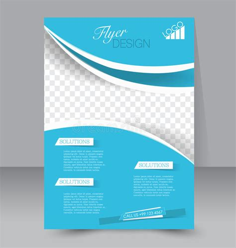 Flyer Template Business Brochure Editable A4 Poster Stock Vector Image 53544113 Free Editable Flyer Templates