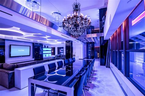 ultimate luxury miami beach party penthouse interior