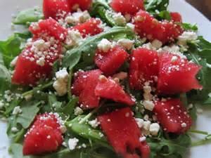 watermelon salad with feta or cotija recipe dishmaps