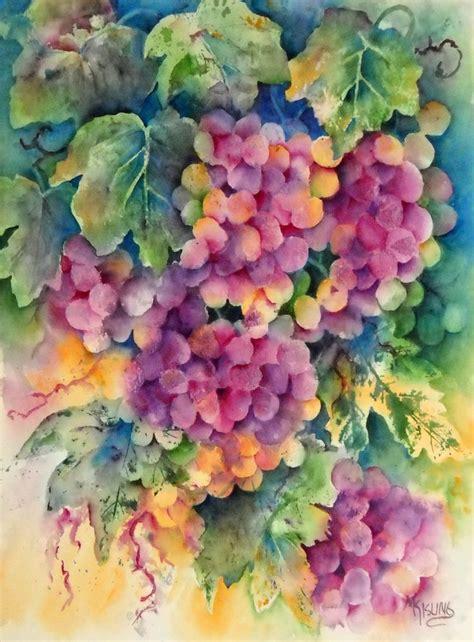 watercolor grapes tutorial 82 best grapes images on pinterest grape vines