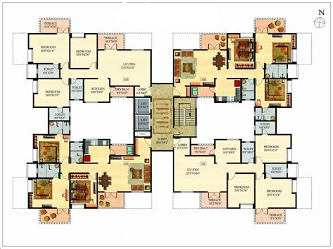 6 Bedroom Mansion Floor Plans Design Ideas 2017 2018 New Large House Plans