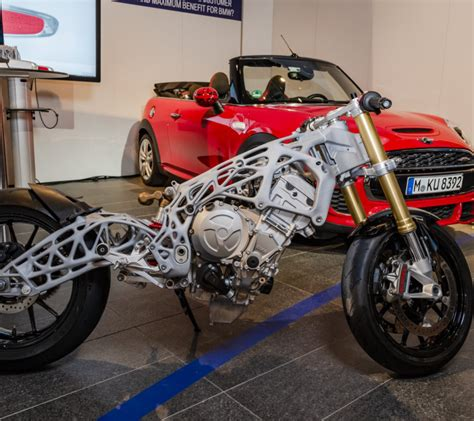 Bmw Motorrad Händler Werden by Bmw Stellt 3d Gedruckten Motorradrahmen Vor 3druck