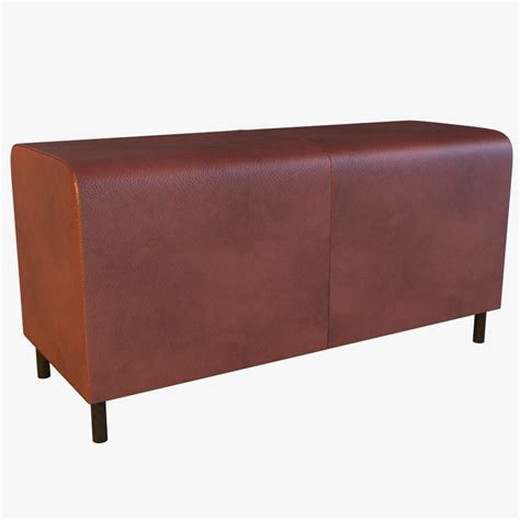 leather banquette leather banquette 3d max