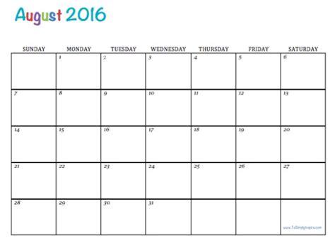 printable monthly calendar australia 2016 august calendar 2016 australia august 2016 calendar