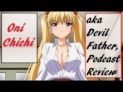 imagenes de anime oni chi chi oni chichi anime review podcast youtube