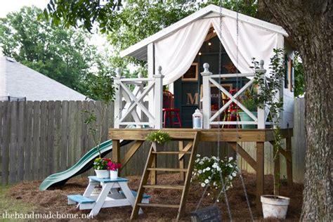 Handmade Clubhouse - una casa giochi di legno per bambini