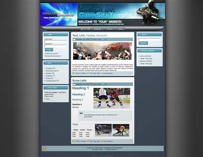 theme drupal gaming free drupal gametheme