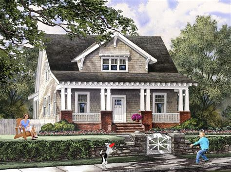 Cottage Bungalow House Plans House Plan 86121 At Familyhomeplans