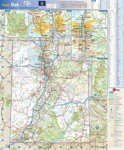 Map Of Utah State by Utah State Wall Map By Globe Turner