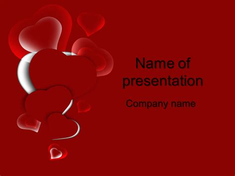 heart design for powerpoint powerpoint template free download love choice image