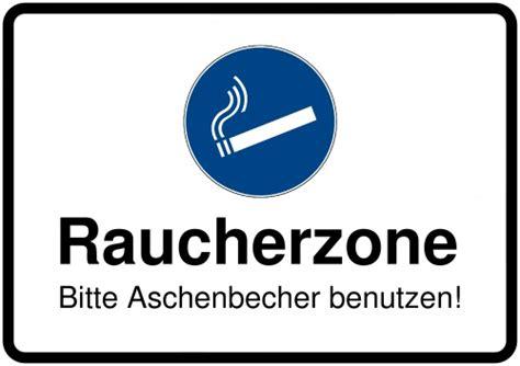 Aufkleber Rauchen Verboten Kostenlos by Schild Selbst Drucken Raucherzone