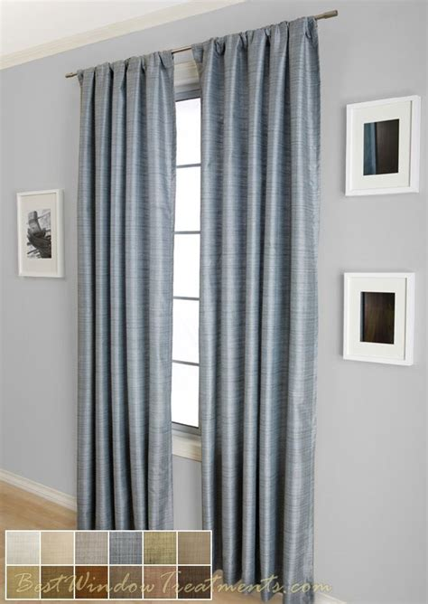 Brown And Blue Curtains Panels Summit Curtain Drapery Panel In Blue Brown Color Combination Real Cool Textured Effect With 2