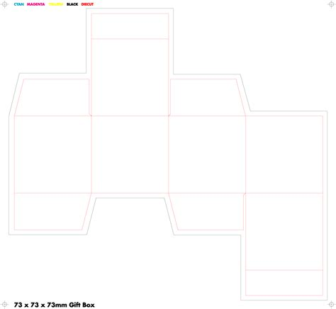 cube box template 4 best images of black cube box template printable paper