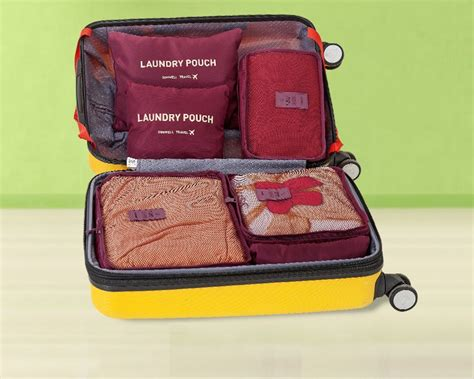 Laundry Pouch 6 In 1 Bag In Bag Travel Organizer Tas Penyekat Tas jual lynx laundry pouch 6 in 1 bag in bag travel organizer