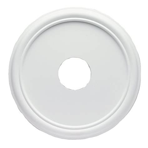 westinghouse ceiling medallion westinghouse 7773200 16 inch smooth white finish ceiling