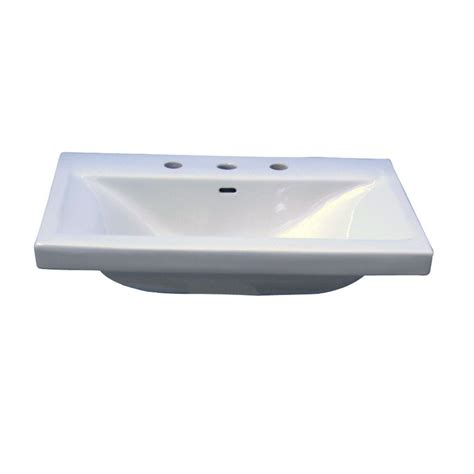 barclay products mistral 650 wall hung bathroom sink in
