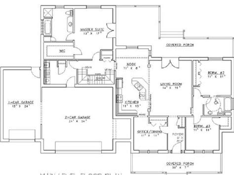 home design designs single story floor plans one