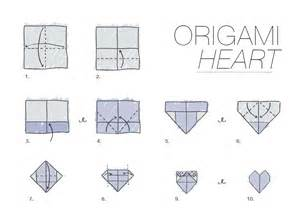 How To Fold Paper Hearts Step By Step - a4 paper origami comot