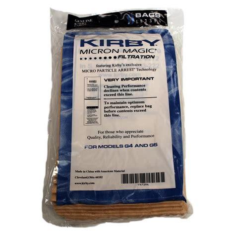 Kirby Vaccum Cleaner Bags kirby g4 vacuum cleaner bags 9 bags genuine