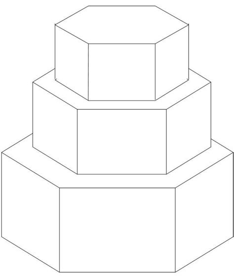 square pattern sketch 5 tier rotated squares sketches patterns templates