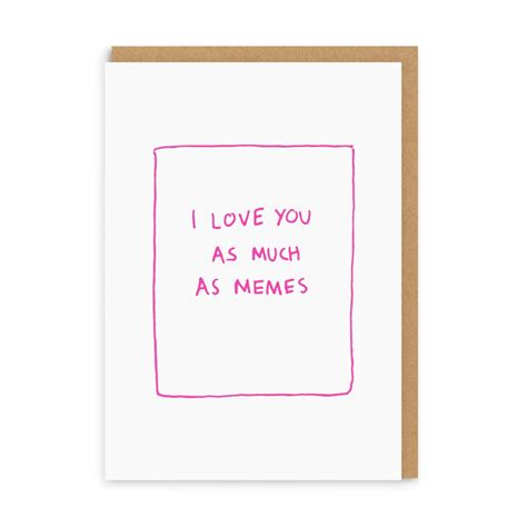 Meme Greeting Cards - meme love greeting card ohh deer