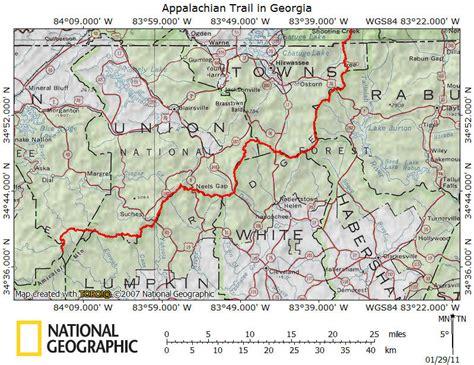 appalachian trail map pdf appalachian trail