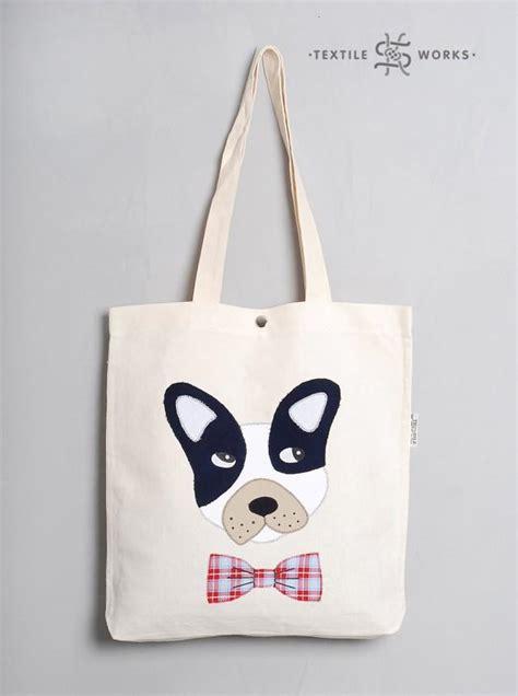 Handmade Shopping Bags - tote bag handmade fabric bag with applique
