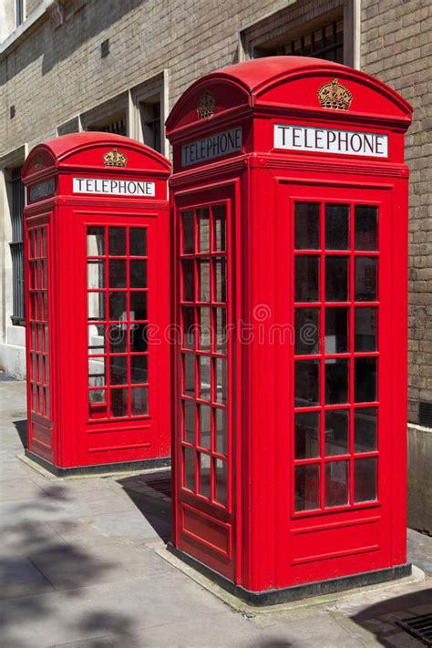cabine telefoniche londra cabine telefoniche rosse a londra fotografie stock