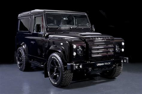 range rover truck land rover defender gets tricked out by urban truck