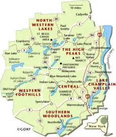Adirondack State Park Map jamie sheffield adirondacks