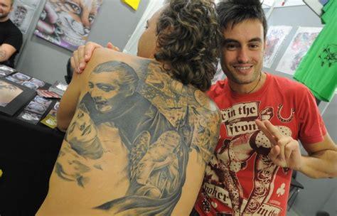 tattoo convention genova foto la pelle come una tela 1 di 15 genova repubblica it