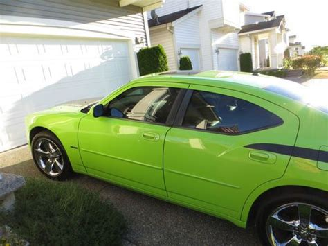 sublime green dodge charger for sale sell used 2007 dodge daytona charger r t hemi sublime