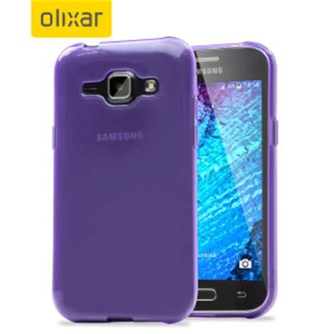 Samsung J1 2015 Slim Armour flexishield samsung galaxy j1 2015 gel purple